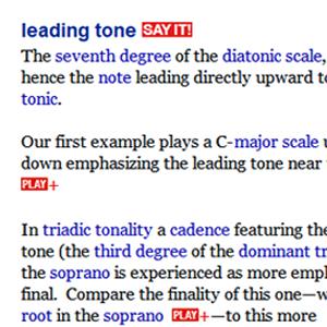 Deep Glossary